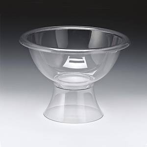 Ayaklý Polycarbonat   Kase-35 Cm