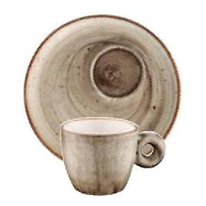 Bonna Aura Terraýn Espresso Fincaný & Tabaðý