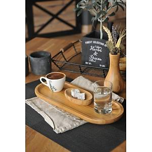 Bambum Latte Mini Dikdörtgen Tepsi