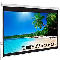 FullScreen 200x200 Motorlu Projeksiyon Perdesi