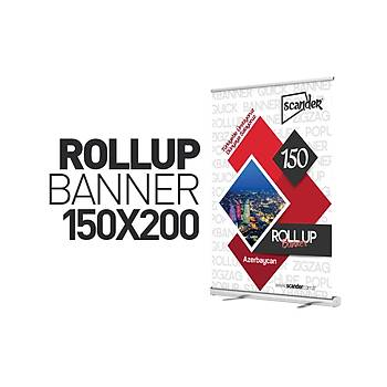 Roll Up Banner 150X200