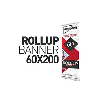 Roll Up Banner 60X200