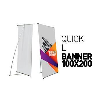 Quick L Banner 100x200