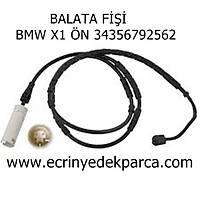 BALATA FÝÞÝ BMW X1 ÖN 34356792562