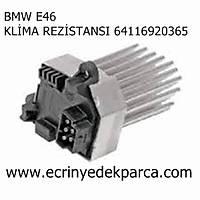 BMW E46 KLİMA REZİSTANSI 64116920365