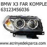 BMW X3 FAR KOMPLE 63123456036
