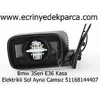 Bmw 3Seri E36 Kasa Elektrikli Sol Ayna Camsýz