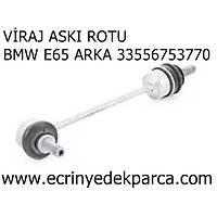 Bmw 7 Seri E65 Kasa Viraj Aský Rotu Arka