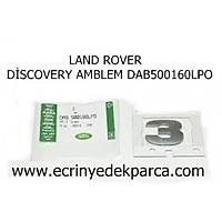 LAND ROVER DÝSCOVERY AMBLEM DAB500160LPO