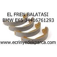 Bmw 7 Seri E65 Kasa El Fren Balatasý