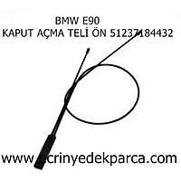 Bmw 3Seri E90 Kasa Kaput Teli Ön