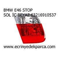 BMW E46 STOP SOL İÇ BEYAZ 63216910537