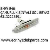 Bmw 3Seri E46 Kasa Sol Beyaz