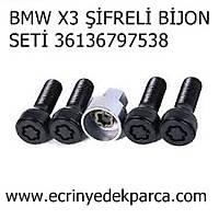BMW X3 ÞÝFRELÝ BÝJON SETÝ 36136797538