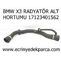 BMW X3 RADYATÖR ALT HORTUMU 17123401562