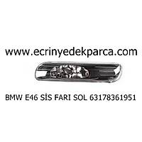 Bmw 3Seri E46 Kasa Sis Farý Sol