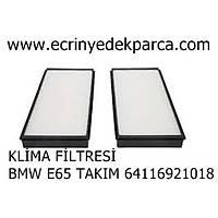 Bmw 7 Seri E65 Kasa Klima Filtresi