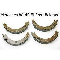 Mercedes W140 El Fren Balatasý