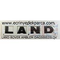 LAND ROVER FREELANDER AMBLEM DAG500020LQV