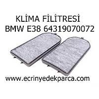 Bmw 7 Seri E38 Kasa Klima Filtresi