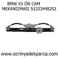 BMW X3 ÖN CAM MEKANÝZMASI 51333448252