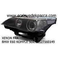 Bmw E60 Kasa Xenon Far Sol Adaptif