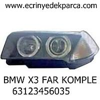BMW X3 FAR KOMPLE 63123456035