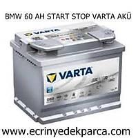 BMW 60 AH START STOP VARTA AKÜ