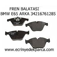 Bmw 7 Seri E65 Kasa Fren Balatasý Arka