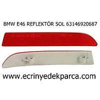 Bmw 3Seri E46 Kasa Tampon Reflektörü Arka Sol