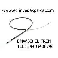BMW X3 EL FREN TELÝ 34403400796