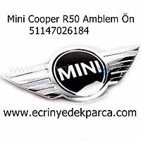 Mini Cooper R50 Amblem Ön