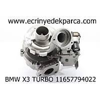 TURBO BMW X3 11657794022
