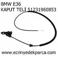 Bmw 3Seri E36 Kasa Kaput Teli