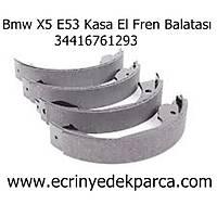Bmw X5 E53 Kasa El Fren Balatasý 34416761293