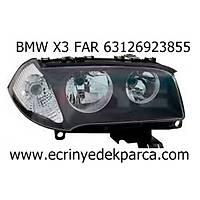 BMW X3 SOL FAR 63126923855