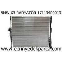 BMW X3 RADYATÖR 17113400013