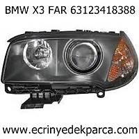 BMW X3 FAR 63123418382