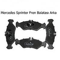 Mercedes Sprinter Fren Balatasý Arka
