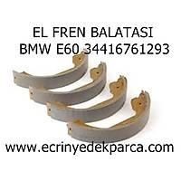 Bmw 5Seri E60 Kasa El Fren Balatasý