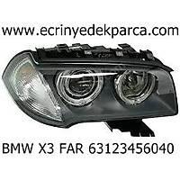 BMW X3 FAR 63123456040