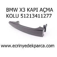 BMW X3 KAPI AÇMA KOLU 51213411277
