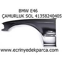 Bmw 3Seri E46 Kasa Ön Çamurluk Sol