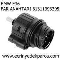 BMW E36 FAR ANAHTARI 61311393395
