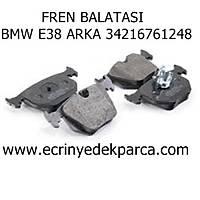 Bmw 7 Seri E38 Kasa Fren Balatasý Arka