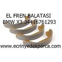 Bmw X3 E83 Kasa El Fren Balatasý
