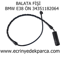 Bmw 7 Seri E38 Kasa Balata Fiþi Ön