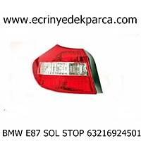 Bmw 1Seri 2007 Model E87 Kasa Sol Stop