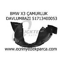 BMW X3 ÇAMURLUK DAVLUMBAZI 51713400053