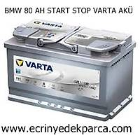 BMW 80 AH START STOP VARTA AKÜ
